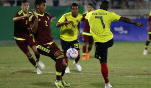 Colombia vence a Venezuela en la final de fútbol masculino