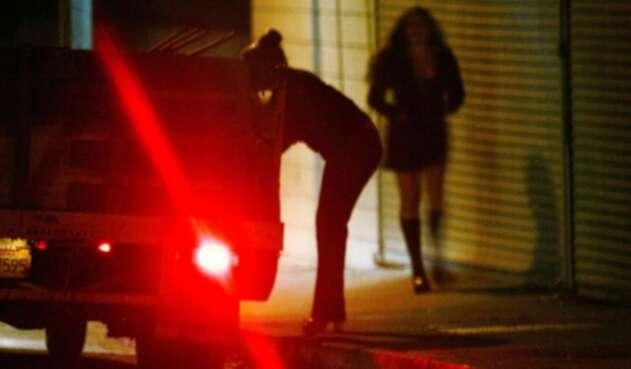 Prostitución en la calle