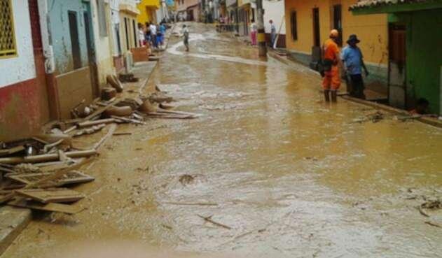 Referencia lluvias en Antioquia.