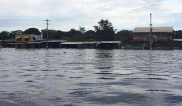 Miles de personas se han visto afectadas por las fuertes lluvias en Vichada