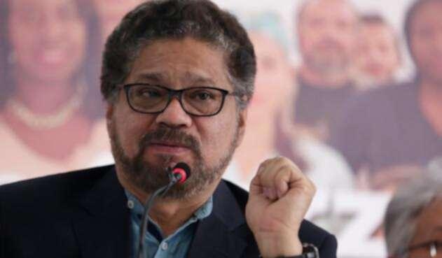 Iván Márquez, integrante de la colectividad de las Farc