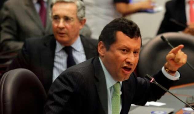 Jaime Lombana, abogado del expresidente Álvaro Uribe
