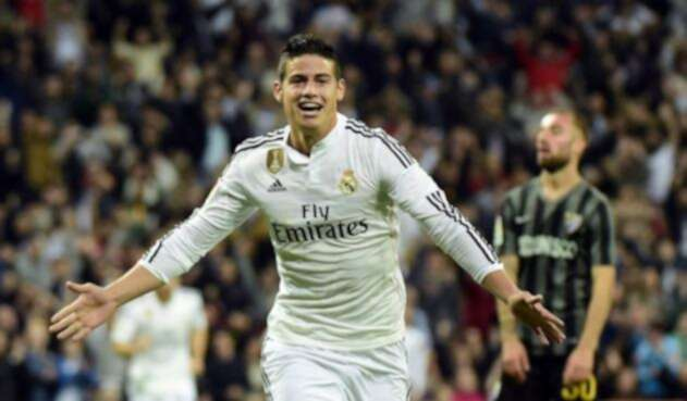 James Rodríguez salió del Madrid en la era de Zinedine Zidane