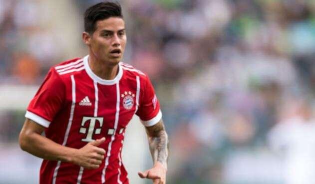 James Rodríguez continuará en el Bayern Múnich