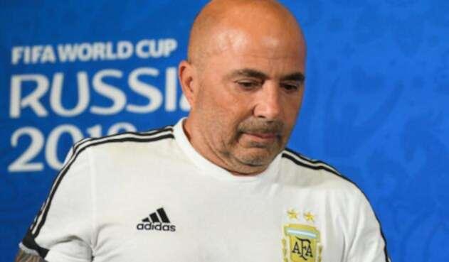 Jorge Sampaoli, extécnico de la Selección de Argentina