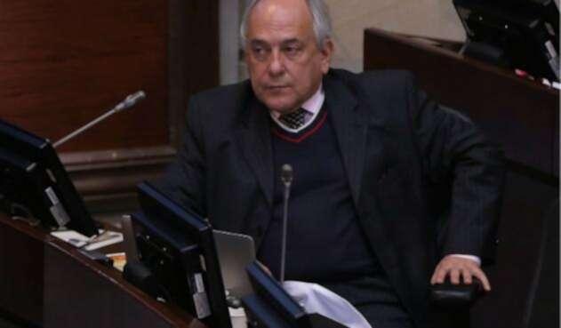 El senador José Obdulio Gaviria, un permanente crítico de la izquierda