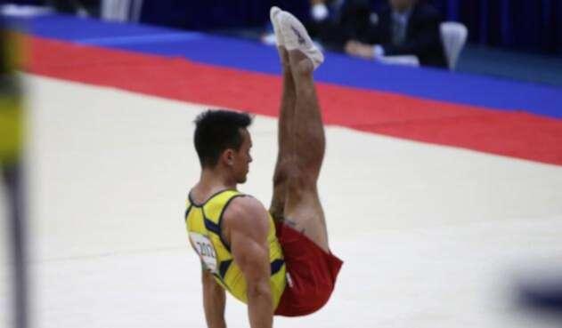 Jossimar Calvo ganó oro y plata en el cierre de la gimnasia en los Centroamericanos