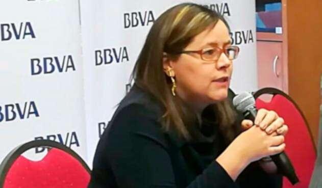 Juana Téllez, economista jefe del BBVA Colombia