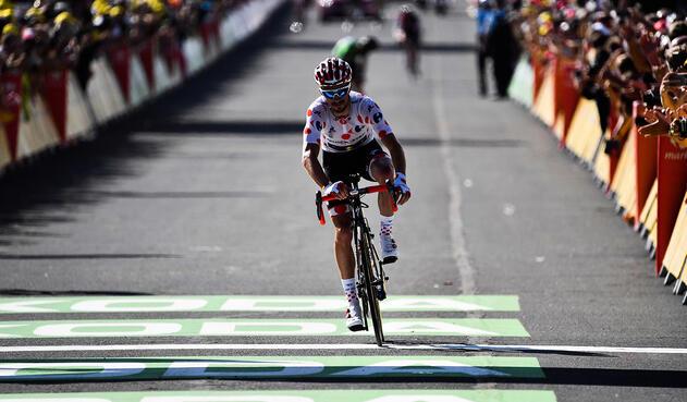 Julian Alaphilippe, ciclista francés al servicio de Quick-Step Floors