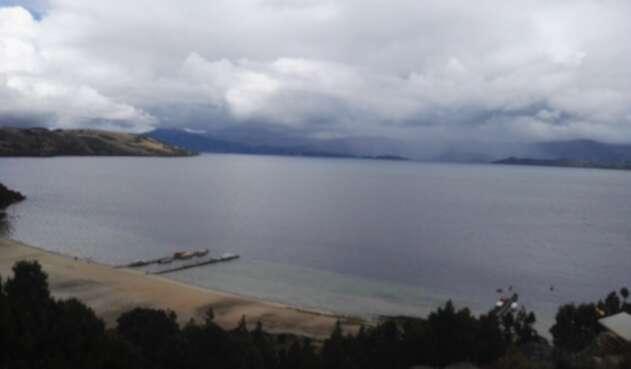 Lago de Tota en Boyacá.
