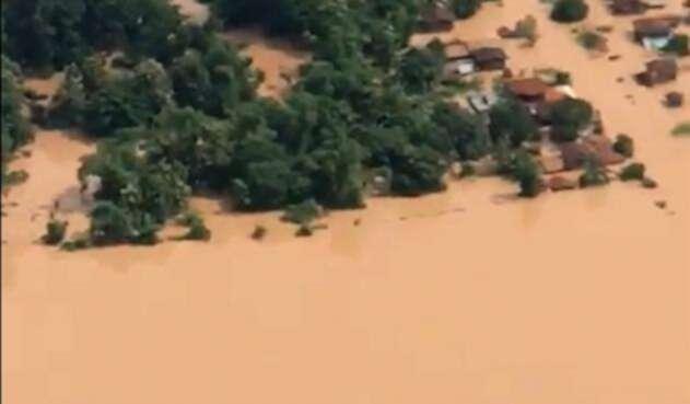 Attapeu, en Laos (Asia), la zona más afectada por el desbordamiento de la hidroeléctrica de Laos