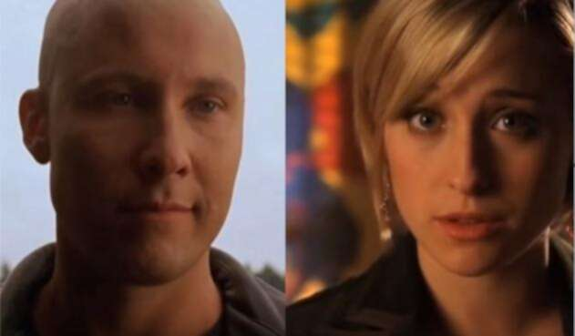 Lex Luthor y Chloe Sullivan de  'Smallville'