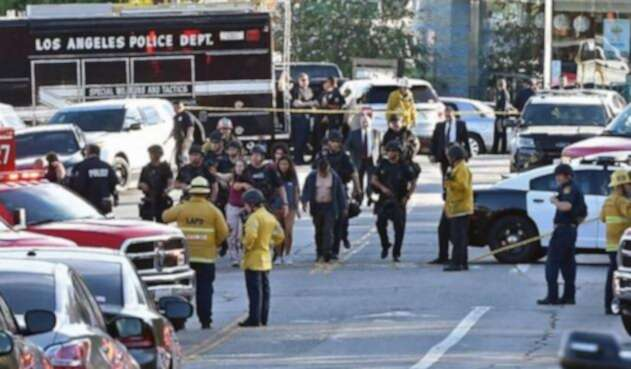 Momentos de alta tensión se vivieron en la toma de rehenes en Los Ángeles