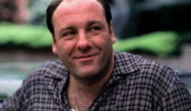Tony Soprano, el personaje principal de la serie, interpretado por James Gandolfini.