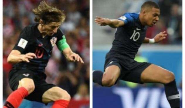 Modric y Mbappe llegan como referentes de ambas selecciones