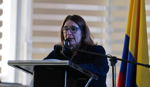 Mariana Garcés, ministra de Cultura de Santos