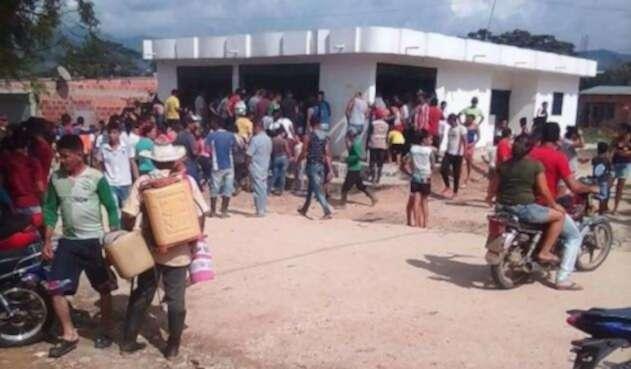 Masacre en El Tarra (Norte de Santander)