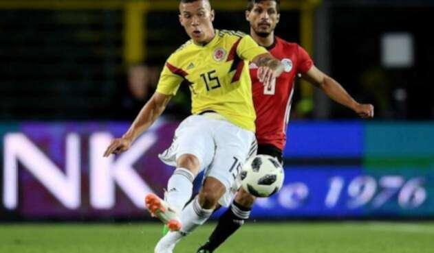 Matheus Uribe con la Selección Colombia