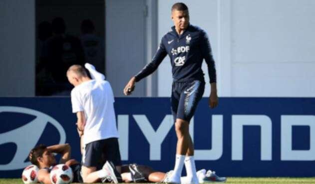 Mbappé es la máxima figura de Francia en el Mundial