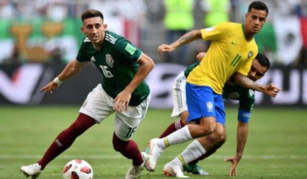 Brasil vs México - Octavos de Final