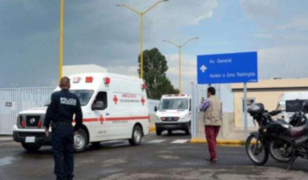 Un avión comercial de la aerolínea Aeroméxico con 101 personas a bordo se estrelló en las inmediaciones Aeropuerto Guadalupe Victoria de Durango.