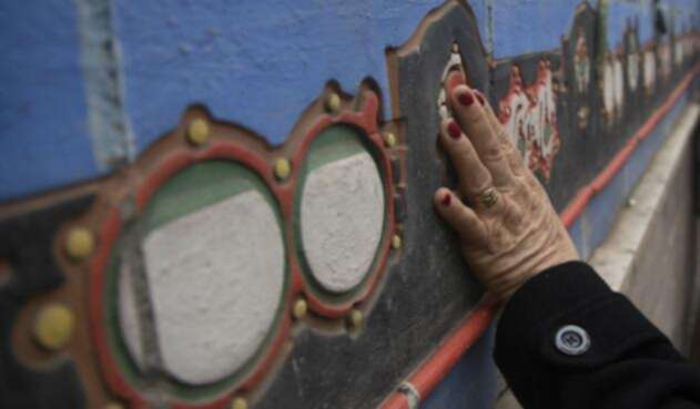 El circuito de murales callejeros para ciegos está en Chile
