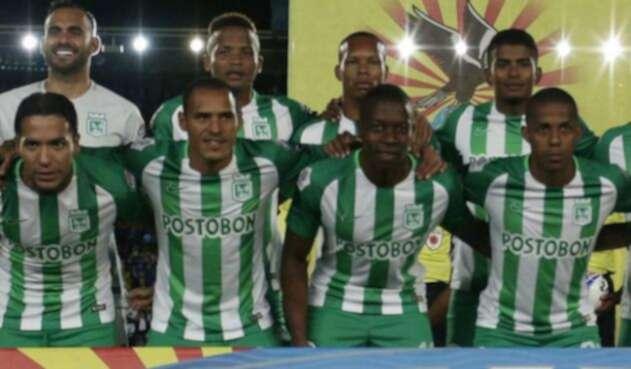 Jugadores de Atlético Nacional