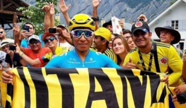 Nairo Quintana envía mensaje para celebrar el Día de la Independencia