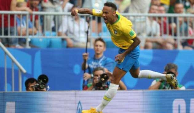 Neymar Brasil México Rusia 2018