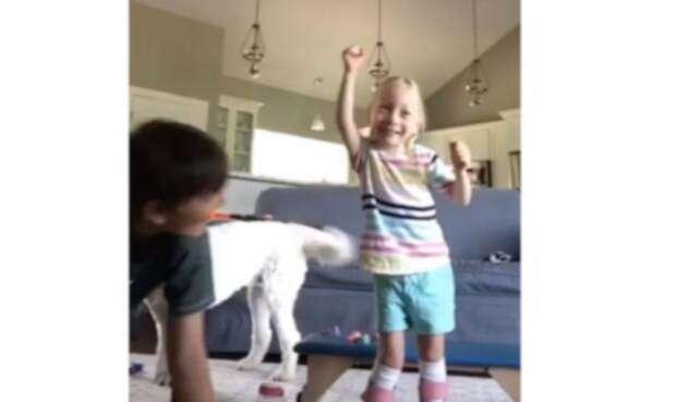 Maya Tisdale, la pequeña que lucha contra la parálisis cerebral