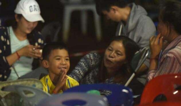 Niños de Tailandia