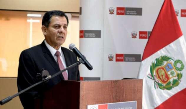 Mauro Medina Dimaraes, ministro del interior de Perú