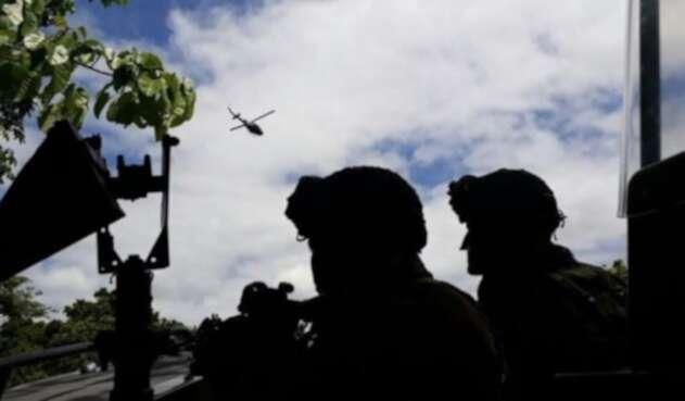 Operativos militares contra el Clan del Golfo