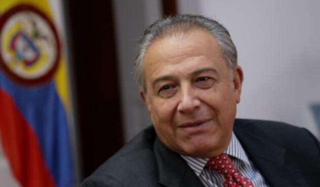 El general (r) Óscar Naranjo, saliente vicepresidente de la República