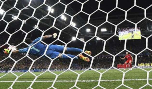 El Colombia vs Inglaterra fue la tercer tanda de penales en estos octavos de final