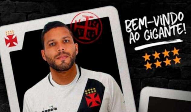 Oswaldo Henríquez fue presentado como nuevo jugador de Vasco Da Gama