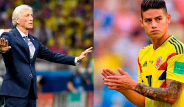 El volante colombiano no pudo estar ante Inglaterra por lesión