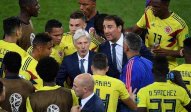 Pékerman y Lorenzo llevaron a Colombia a los octavos de final del Mundial de Rusia