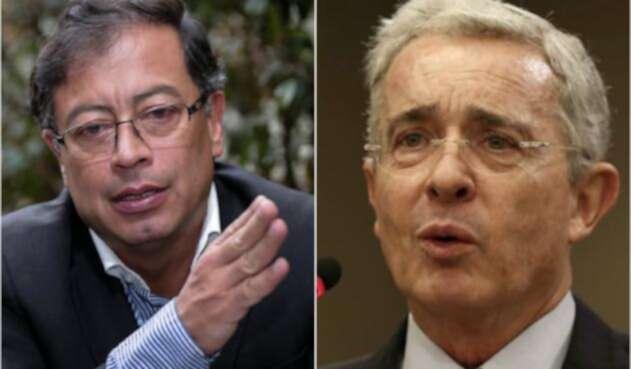 Gustavo Petro y Álvaro Uribe, de nuevo a los estrados judiciales.
