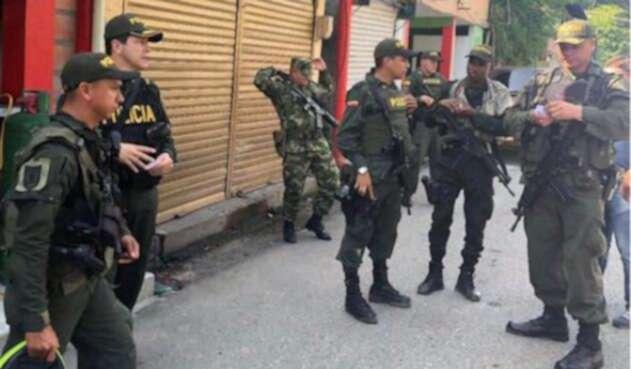 Refuerzo policial en corregimiento de Puerto Valdivia