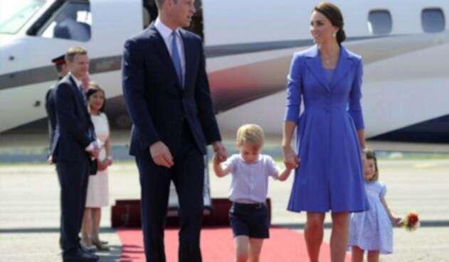 El príncipe Jorge celebra su quinto cumpleaños