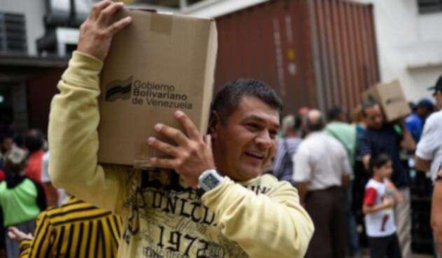 Programa de Alimentos en Venezuela CLAP