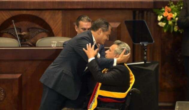 Lenín Moreno remplazó a Rafael Correa en la Presidencia de Ecuador