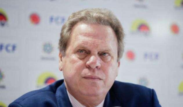 Ramón Jesurum, presidente de la Federación Colombiana de Fútbol