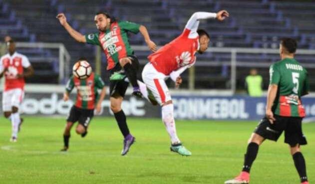 El expreso rojo debutó sin goles en el torneo continental