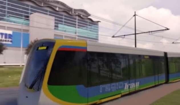 Tren de cercanías Regiotram