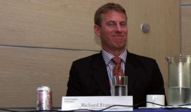Richard Francis, director de bonos soberanos de América Latina y líder analista de Fitch Ratings de la calificación de Colombia