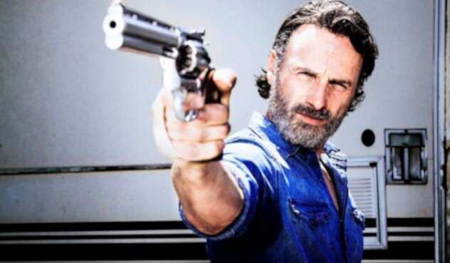 Andrew Lincoln como Rick Grimes en The Walking Dead