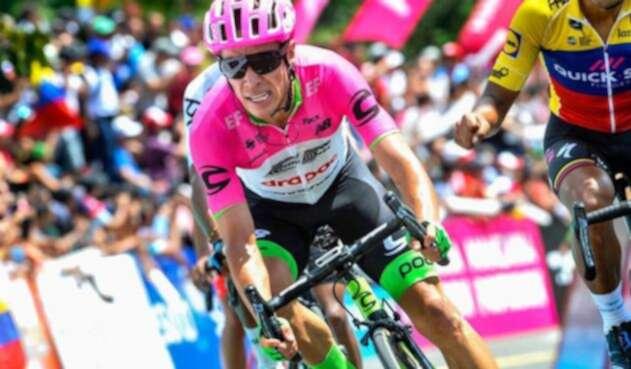Rigoberto Urán, ciclista colombiano al servicio de  EF Education First - Drapac