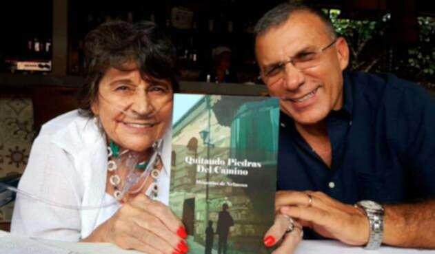 Roy Barreras y su mamá